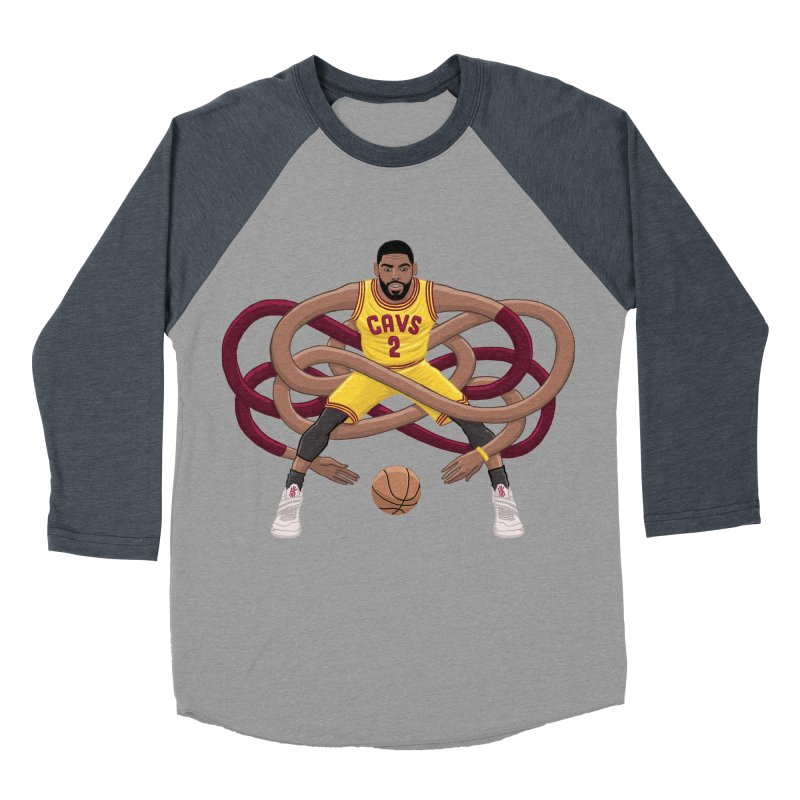 Gnarly Kyrie Men's Baseball Triblend T-Shirt by dukenny's Artist Shop