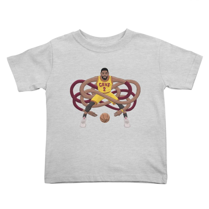 Gnarly Kyrie Kids Toddler T-Shirt by dukenny's Artist Shop