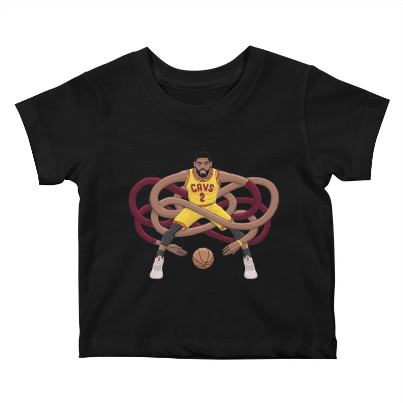 Gnarly Kyrie Kids Baby T-Shirt by dukenny's Artist Shop