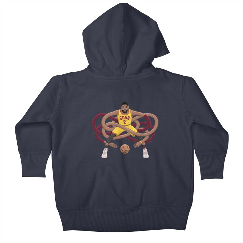 Gnarly Kyrie Kids Baby Zip-Up Hoody by dukenny's Artist Shop