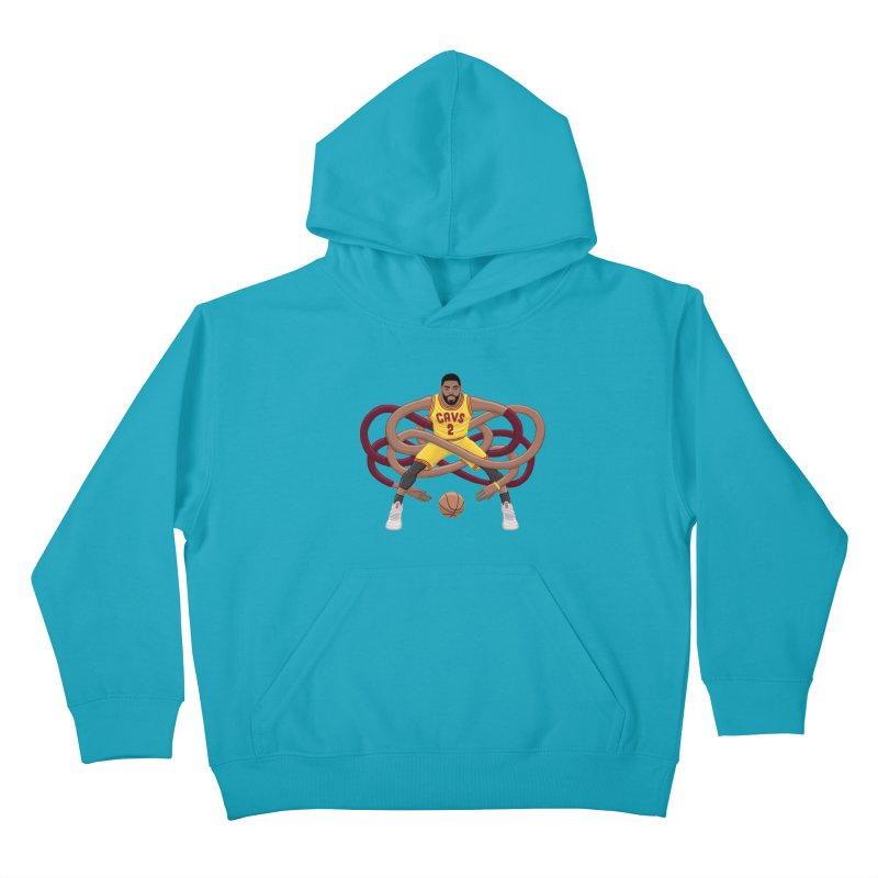 Gnarly Kyrie Kids Pullover Hoody by dukenny's Artist Shop
