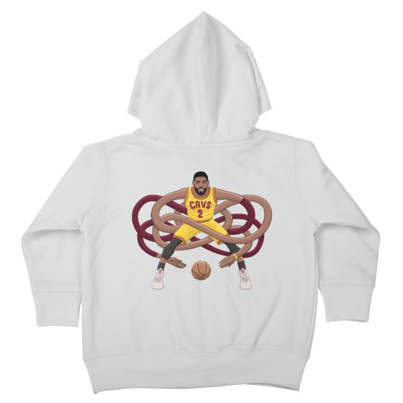 Gnarly Kyrie Kids Toddler Zip-Up Hoody by dukenny's Artist Shop