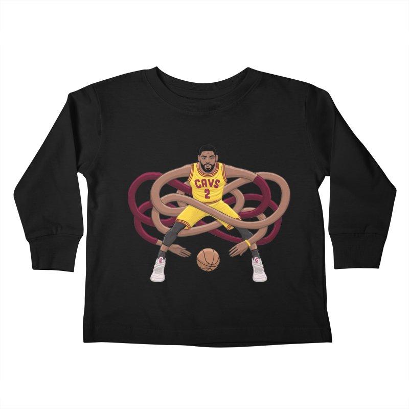 Gnarly Kyrie Kids Toddler Longsleeve T-Shirt by dukenny's Artist Shop