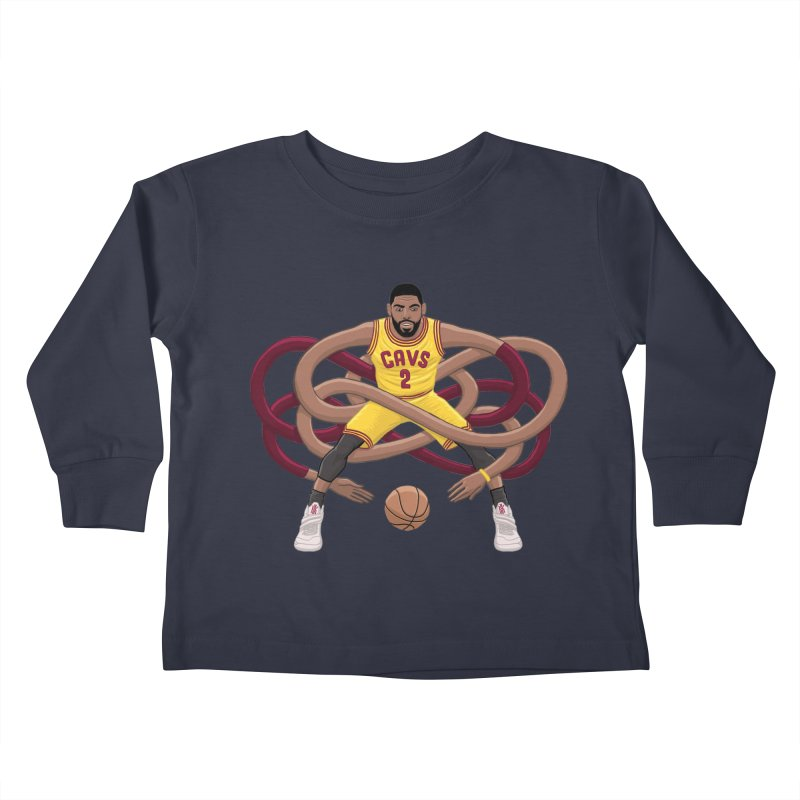 Gnarly Kyrie Kids Toddler Longsleeve T-Shirt by dukenny's Artist Shop