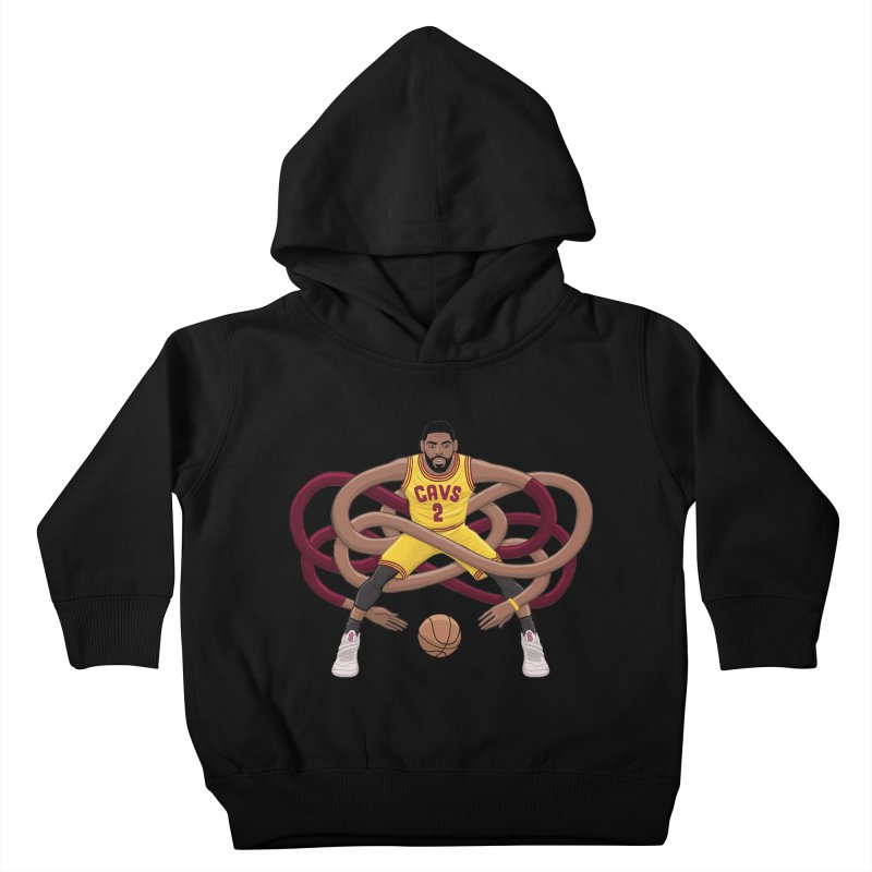 Gnarly Kyrie Kids Toddler Pullover Hoody by dukenny's Artist Shop