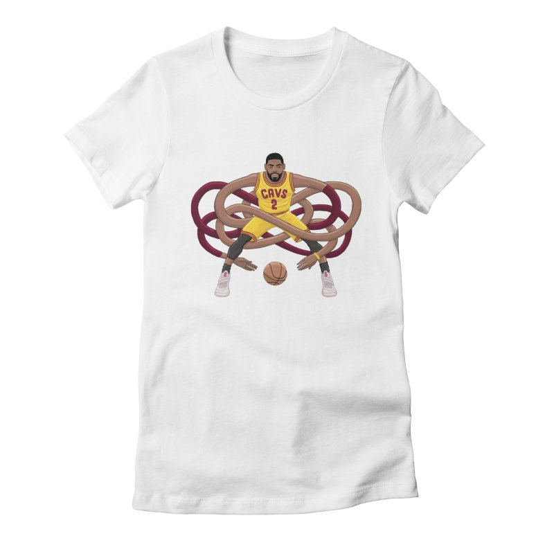 Gnarly Kyrie Women's Fitted T-Shirt by dukenny's Artist Shop