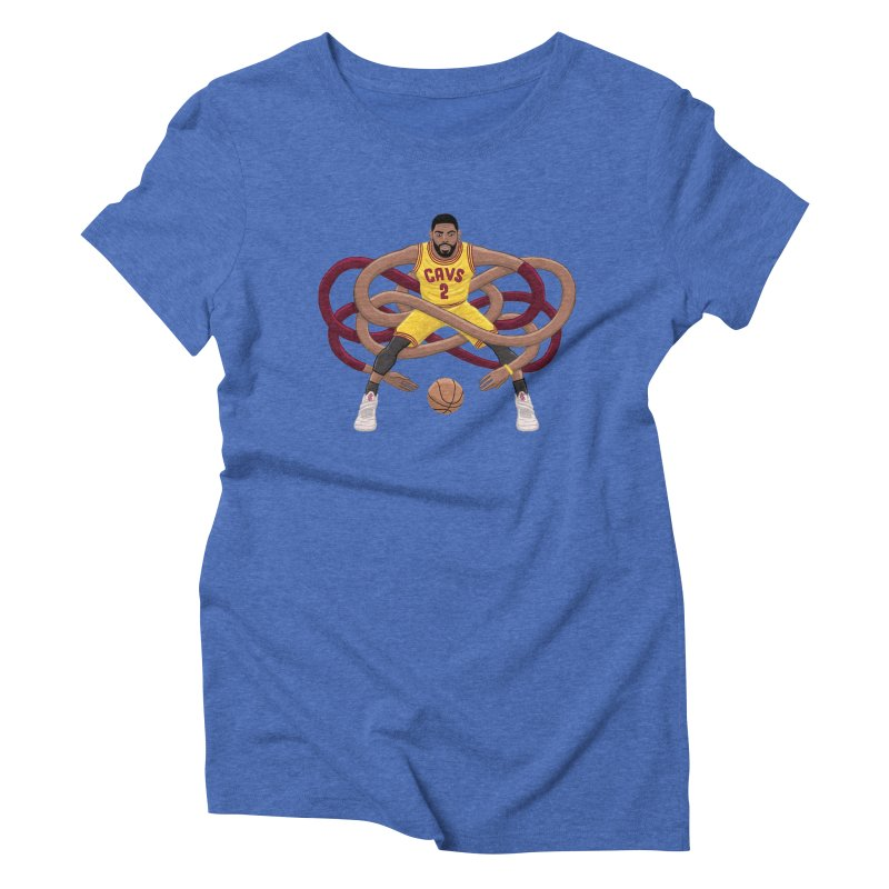 Gnarly Kyrie Women's Triblend T-Shirt by dukenny's Artist Shop