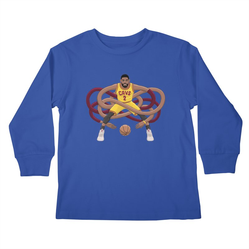 Gnarly Kyrie Kids Longsleeve T-Shirt by dukenny's Artist Shop