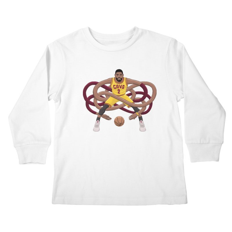 Gnarly Kyrie Kids Longsleeve T-Shirt by dukenny's Artist Shop