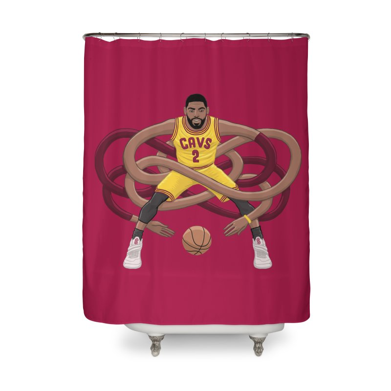 Gnarly Kyrie Home Shower Curtain by dukenny's Artist Shop