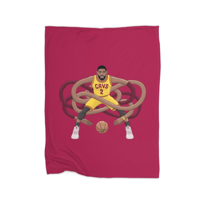 Gnarly Kyrie Home Fleece Blanket Blanket by dukenny's Artist Shop
