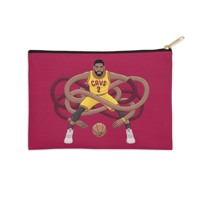 Gnarly Kyrie Accessories Zip Pouch by dukenny's Artist Shop