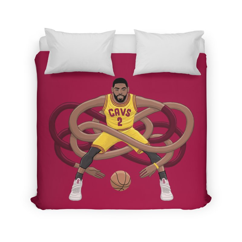 Gnarly Kyrie Home Duvet by dukenny's Artist Shop