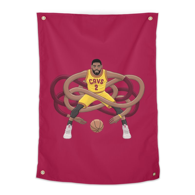Gnarly Kyrie Home Tapestry by dukenny's Artist Shop