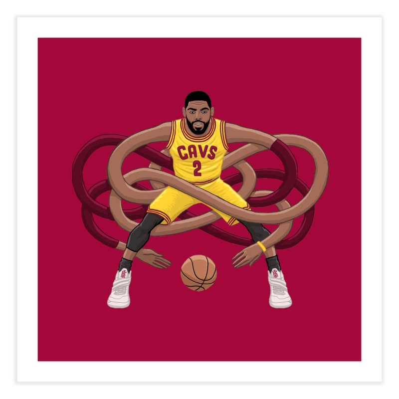 Gnarly Kyrie Home Fine Art Print by dukenny's Artist Shop