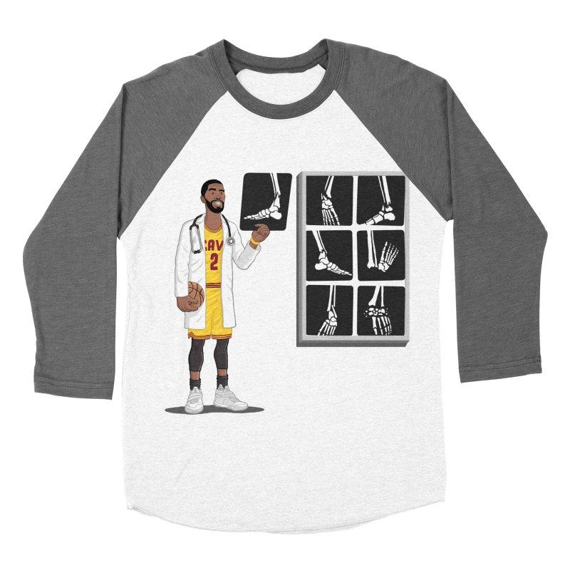 Doc AnkleBreaker Men's Baseball Triblend T-Shirt by dukenny's Artist Shop
