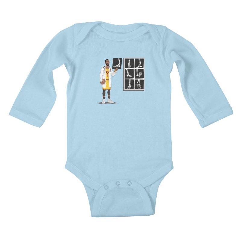 Doc AnkleBreaker Kids Baby Longsleeve Bodysuit by dukenny's Artist Shop