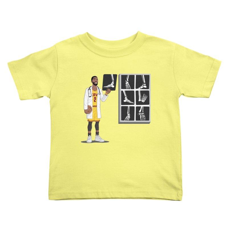 Doc AnkleBreaker Kids Toddler T-Shirt by dukenny's Artist Shop