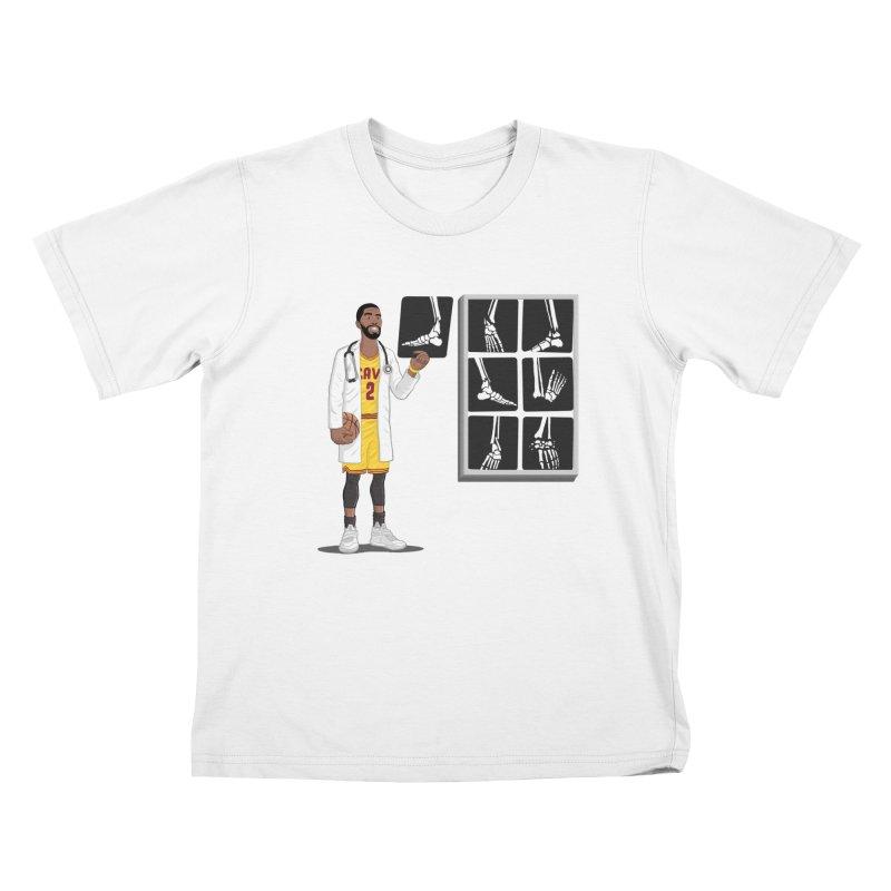 Doc AnkleBreaker Kids T-Shirt by dukenny's Artist Shop