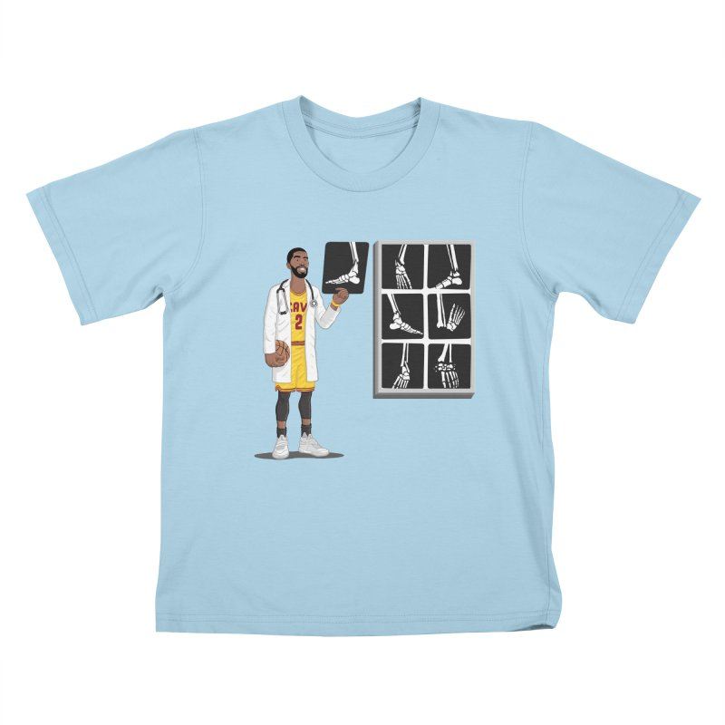 Doc AnkleBreaker Kids T-Shirt by dukenny's Artist Shop