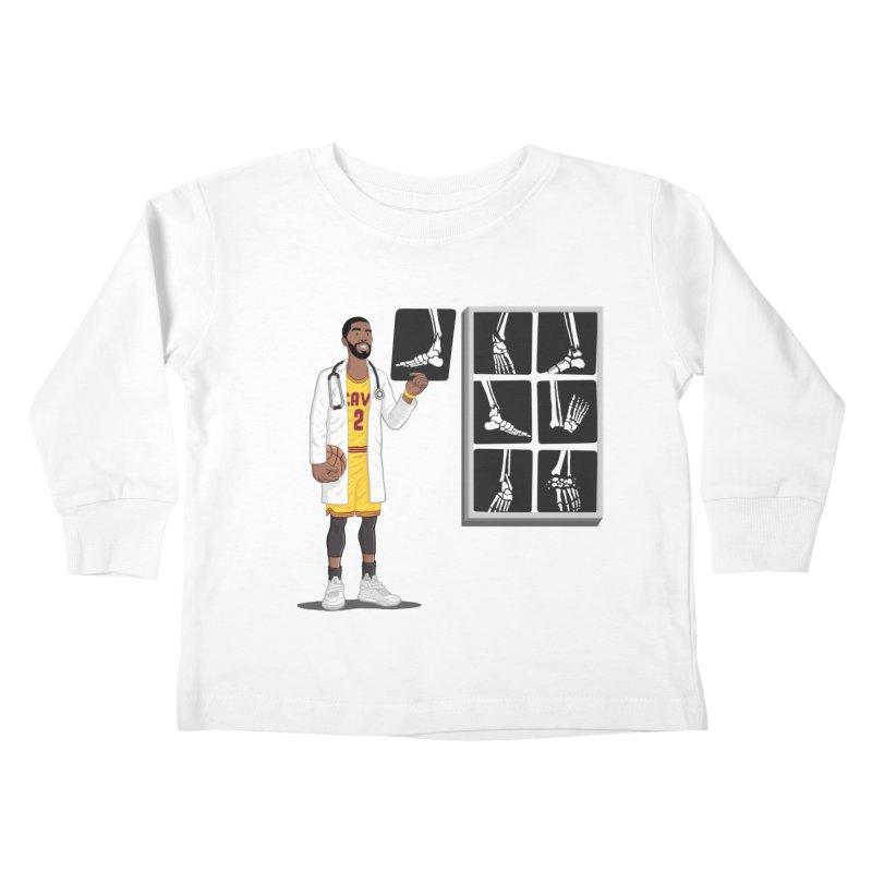 Doc AnkleBreaker Kids Toddler Longsleeve T-Shirt by dukenny's Artist Shop