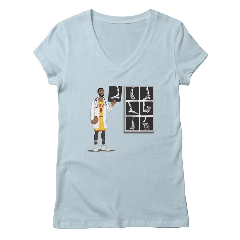 Doc AnkleBreaker Women's V-Neck by dukenny's Artist Shop