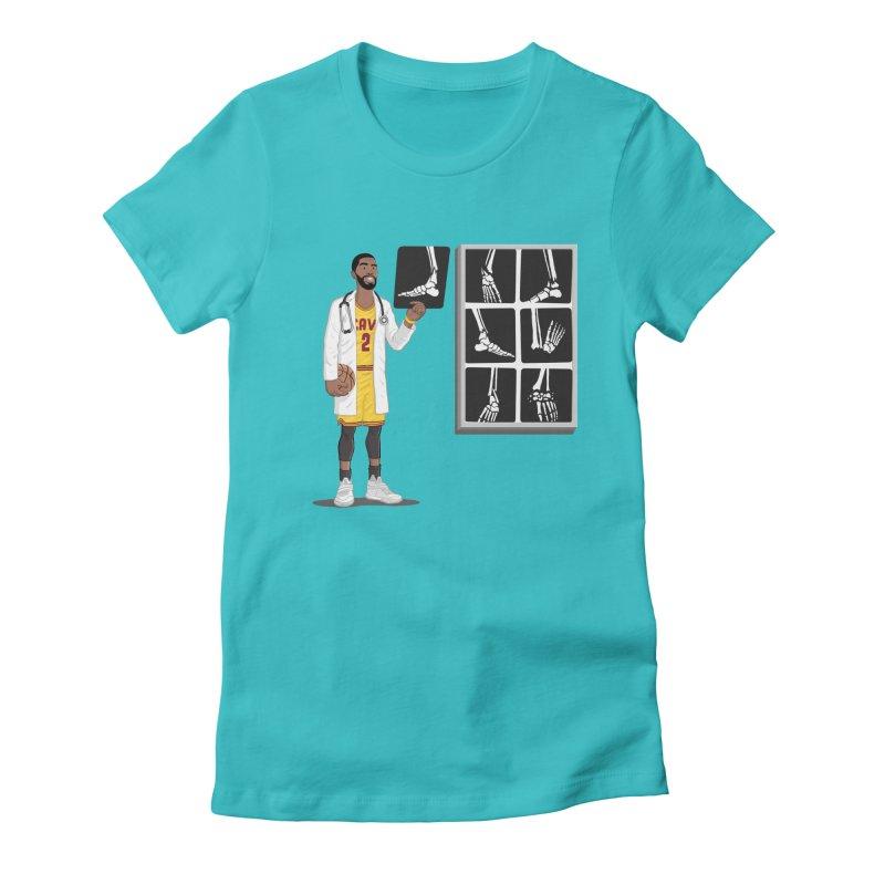 Doc AnkleBreaker Women's Fitted T-Shirt by dukenny's Artist Shop