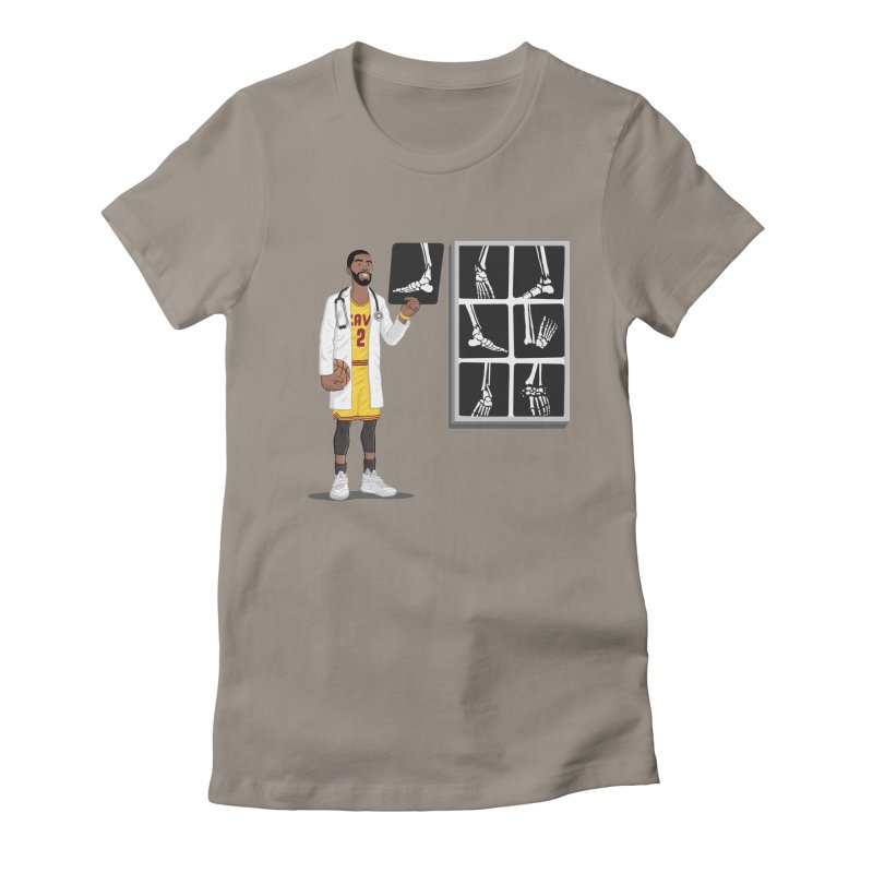 Doc AnkleBreaker Women's Fitted T-Shirt by dukenny's Artist Shop