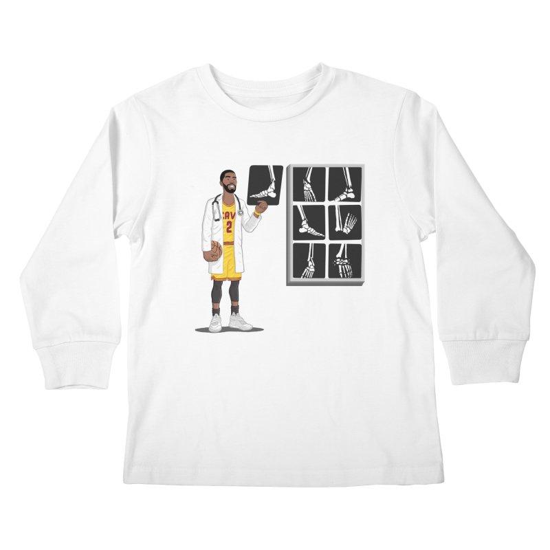 Doc AnkleBreaker Kids Longsleeve T-Shirt by dukenny's Artist Shop