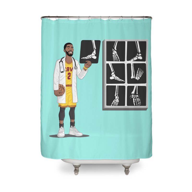 Doc AnkleBreaker Home Shower Curtain by dukenny's Artist Shop