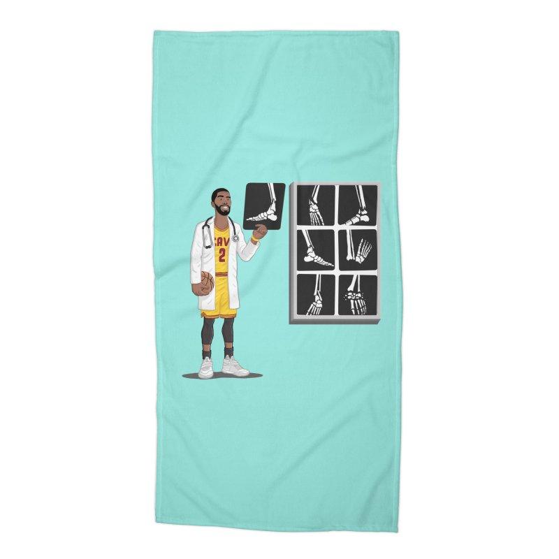 Doc AnkleBreaker Accessories Beach Towel by dukenny's Artist Shop