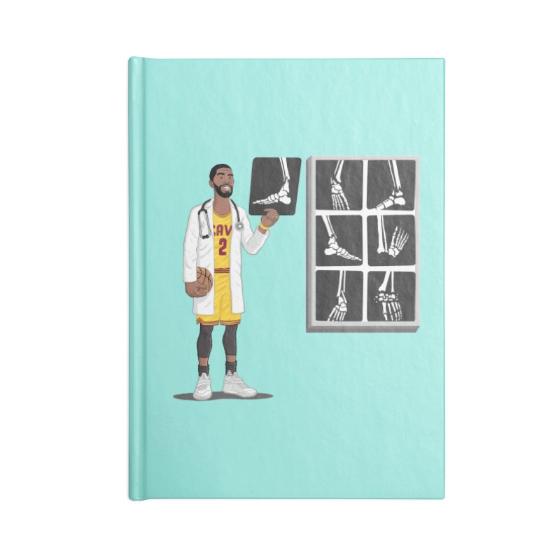 Doc AnkleBreaker Accessories Blank Journal Notebook by dukenny's Artist Shop