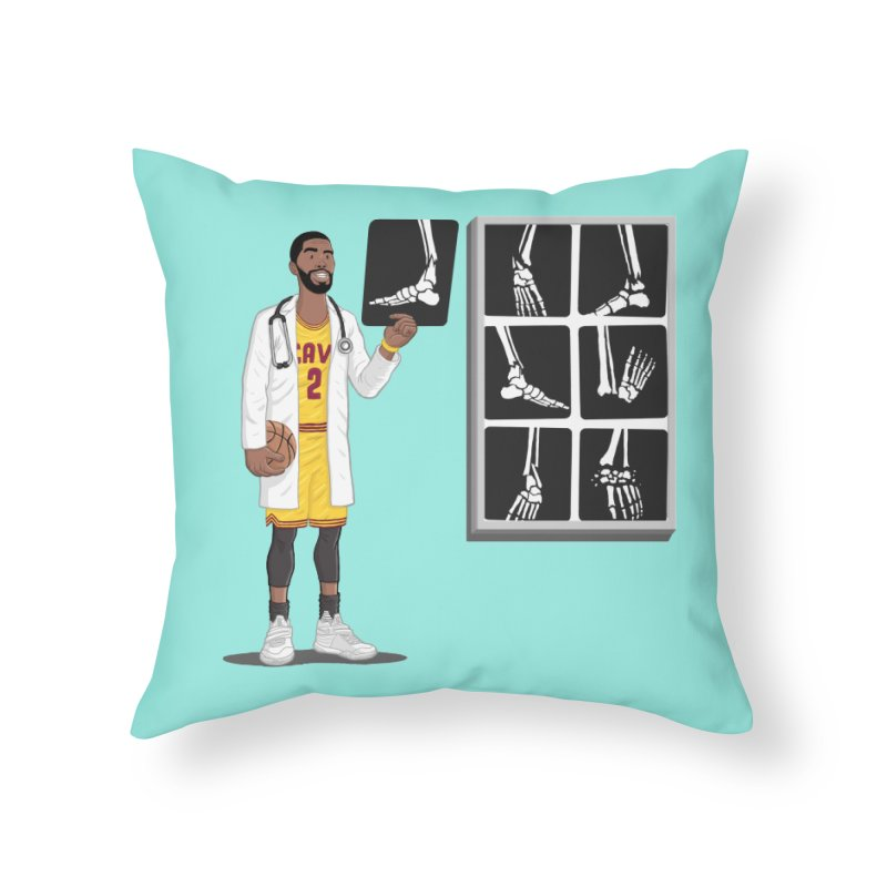 Doc AnkleBreaker Home Throw Pillow by dukenny's Artist Shop