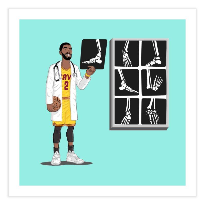 Doc AnkleBreaker Home Fine Art Print by dukenny's Artist Shop