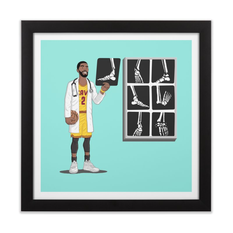 Doc AnkleBreaker Home Framed Fine Art Print by dukenny's Artist Shop