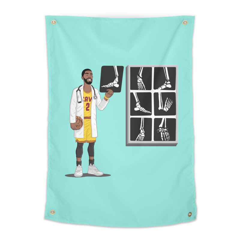 Doc AnkleBreaker Home Tapestry by dukenny's Artist Shop