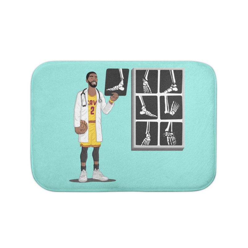 Doc AnkleBreaker Home Bath Mat by dukenny's Artist Shop