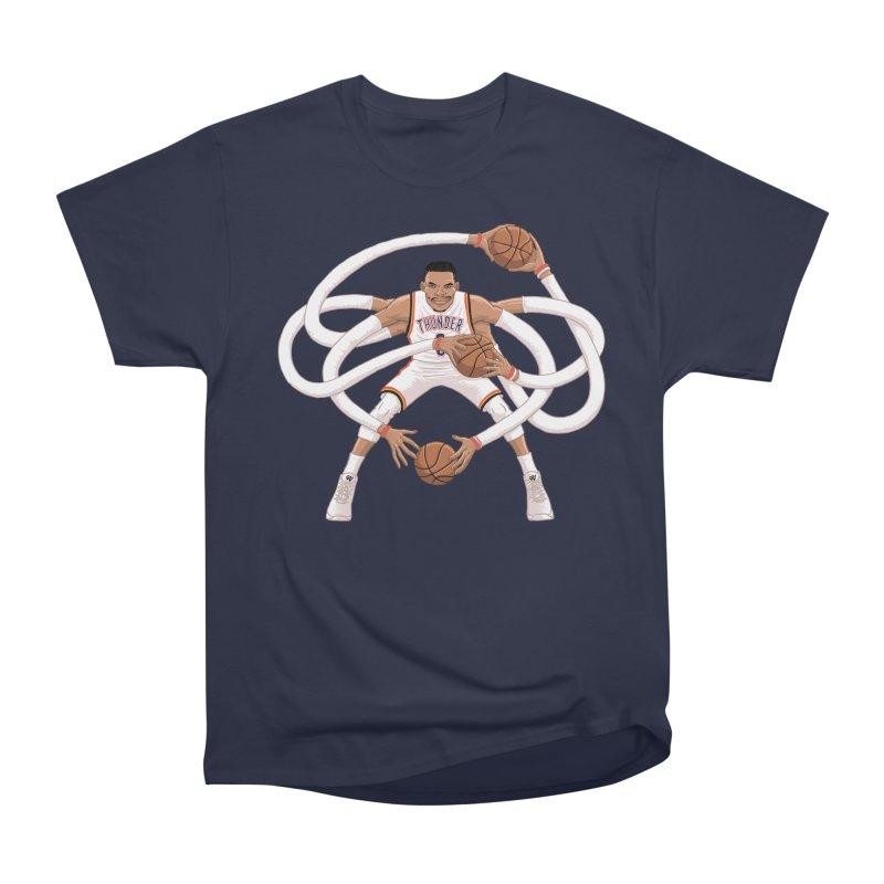 "Russell ""Mr. Triple Double"" Westbrook - Home kit Men's T-Shirt by dukenny's Artist Shop"