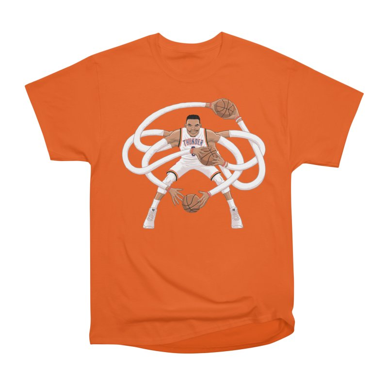 "Russell ""Mr. Triple Double"" Westbrook - Home kit Women's T-Shirt by dukenny's Artist Shop"
