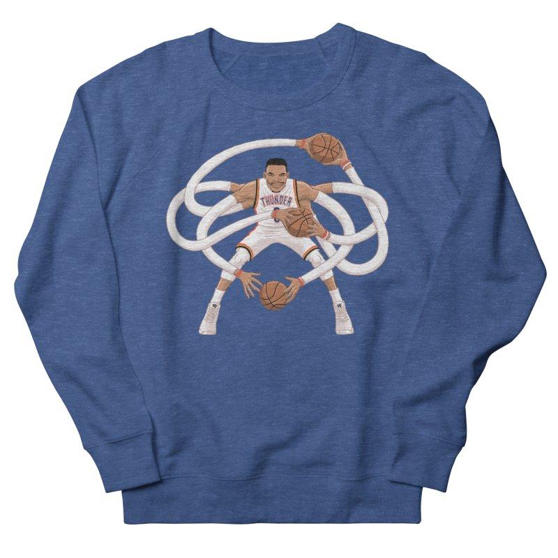 "Russell ""Mr. Triple Double"" Westbrook - Home kit Men's Sweatshirt by dukenny's Artist Shop"