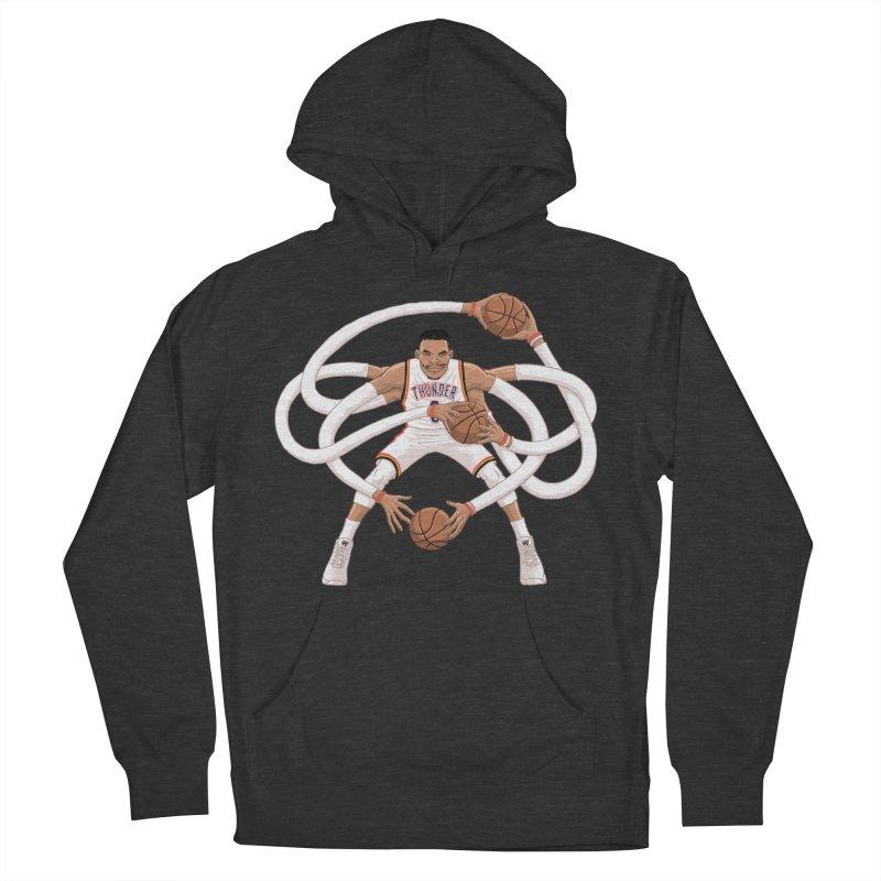 "Russell ""Mr. Triple Double"" Westbrook - Home kit Women's Pullover Hoody by dukenny's Artist Shop"