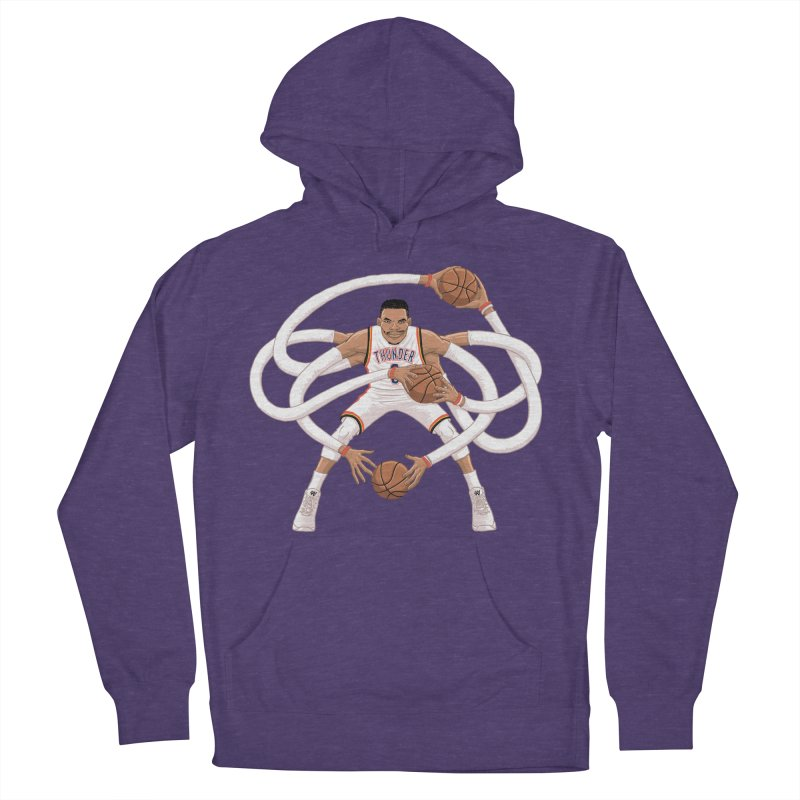 """Russell """"Mr. Triple Double"""" Westbrook - Home kit Women's French Terry Pullover Hoody by dukenny's Artist Shop"""
