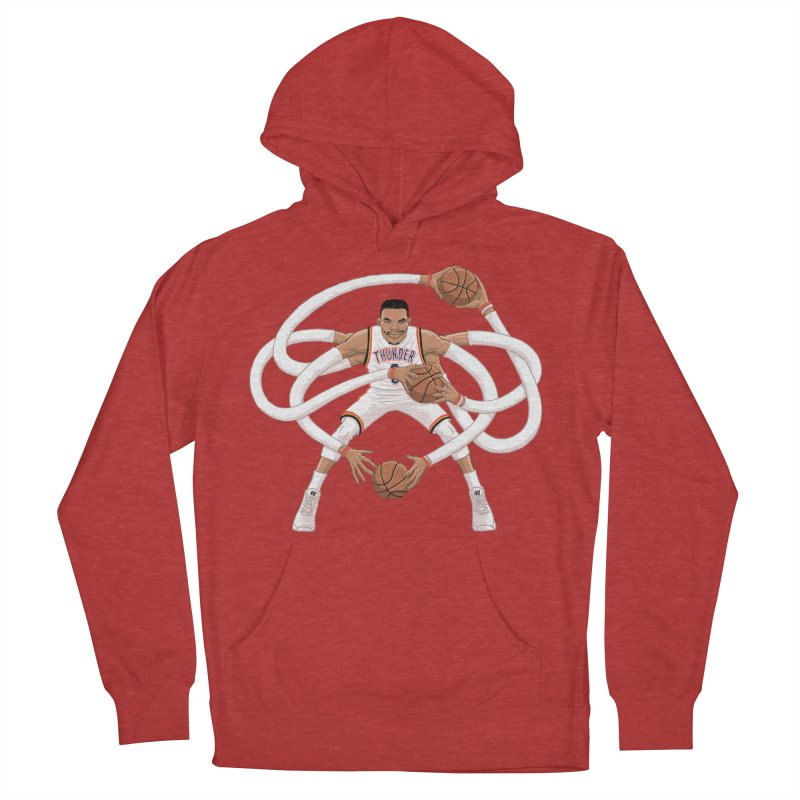 "Russell ""Mr. Triple Double"" Westbrook - Home kit Men's French Terry Pullover Hoody by dukenny's Artist Shop"