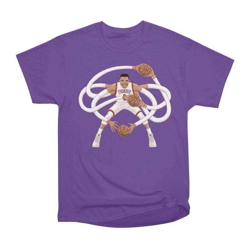 "Russell ""Mr. Triple Double"" Westbrook - Home kit Women's Heavyweight Unisex T-Shirt by dukenny's Artist Shop"