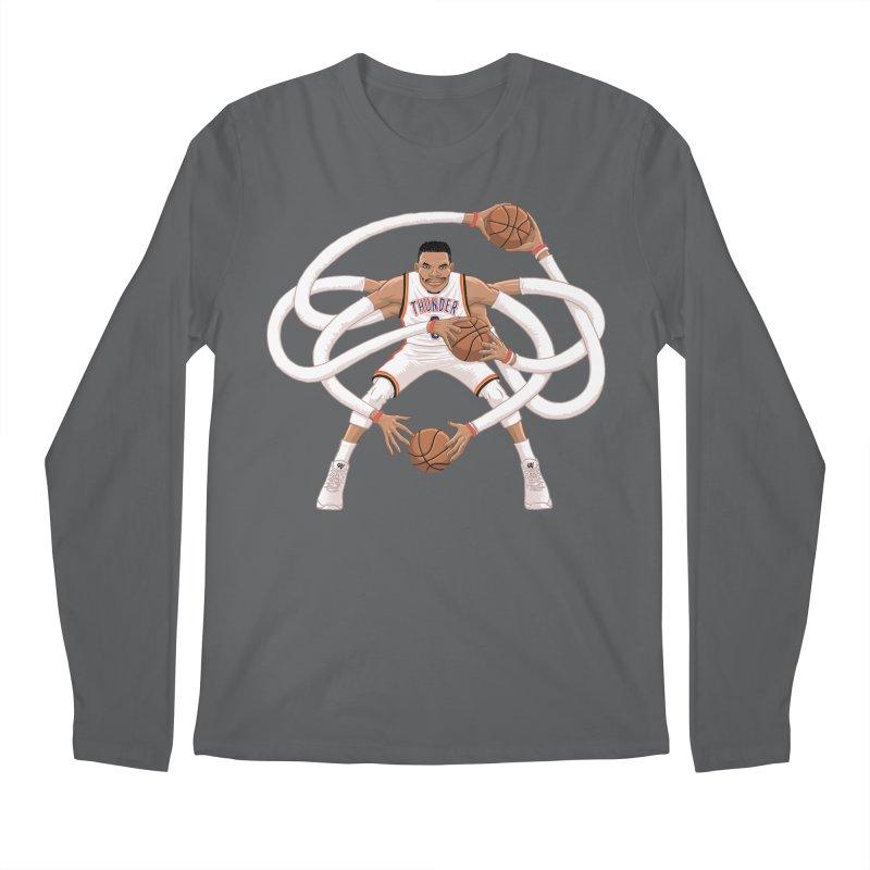 "Russell ""Mr. Triple Double"" Westbrook - Home kit Men's Regular Longsleeve T-Shirt by dukenny's Artist Shop"