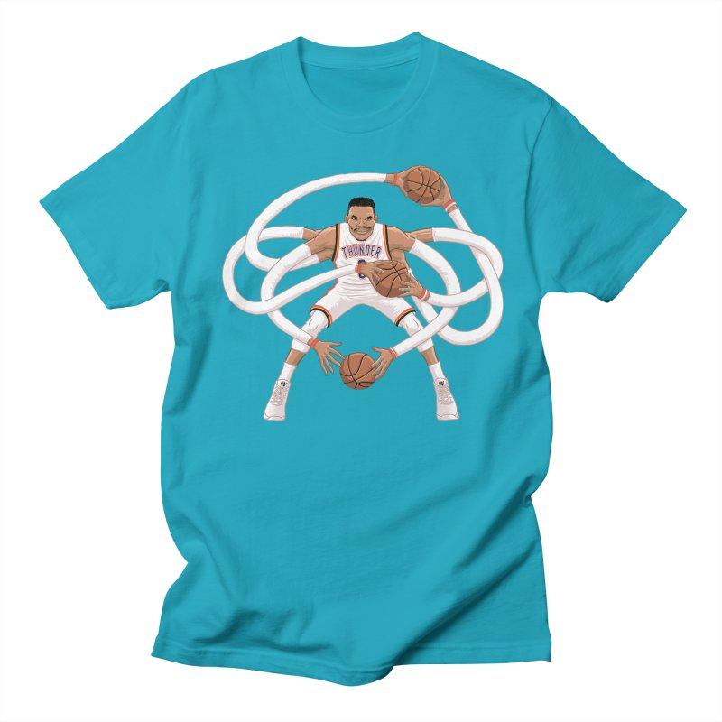 "Russell ""Mr. Triple Double"" Westbrook - Home kit Women's Regular Unisex T-Shirt by dukenny's Artist Shop"