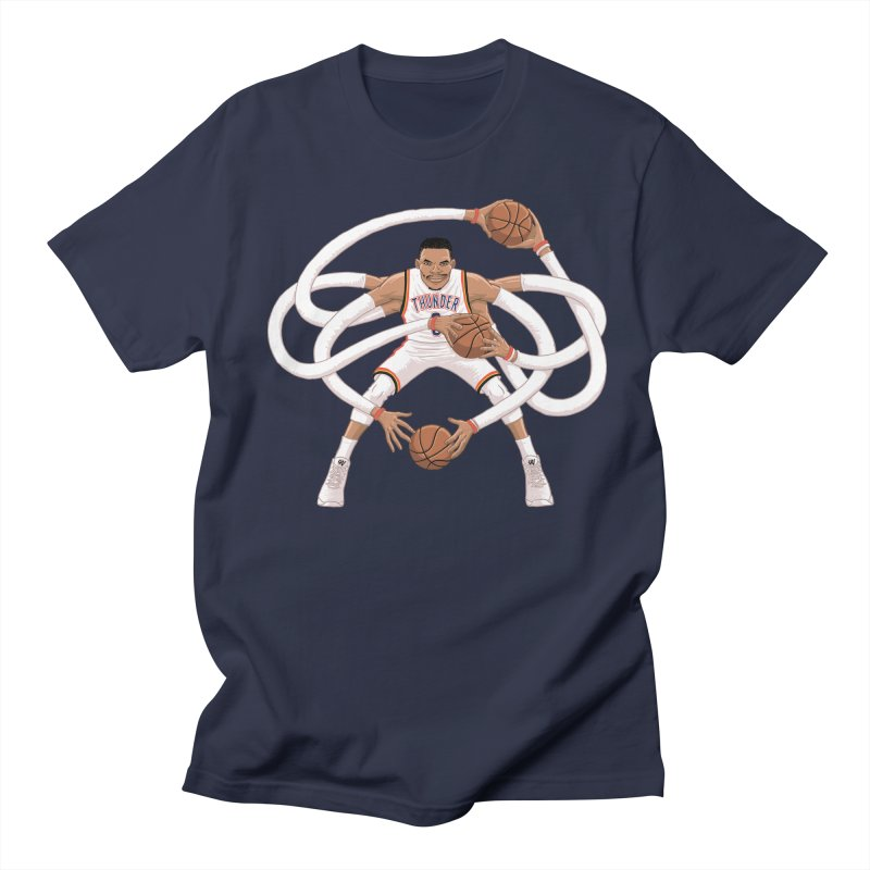 "Russell ""Mr. Triple Double"" Westbrook - Home kit Men's Regular T-Shirt by dukenny's Artist Shop"