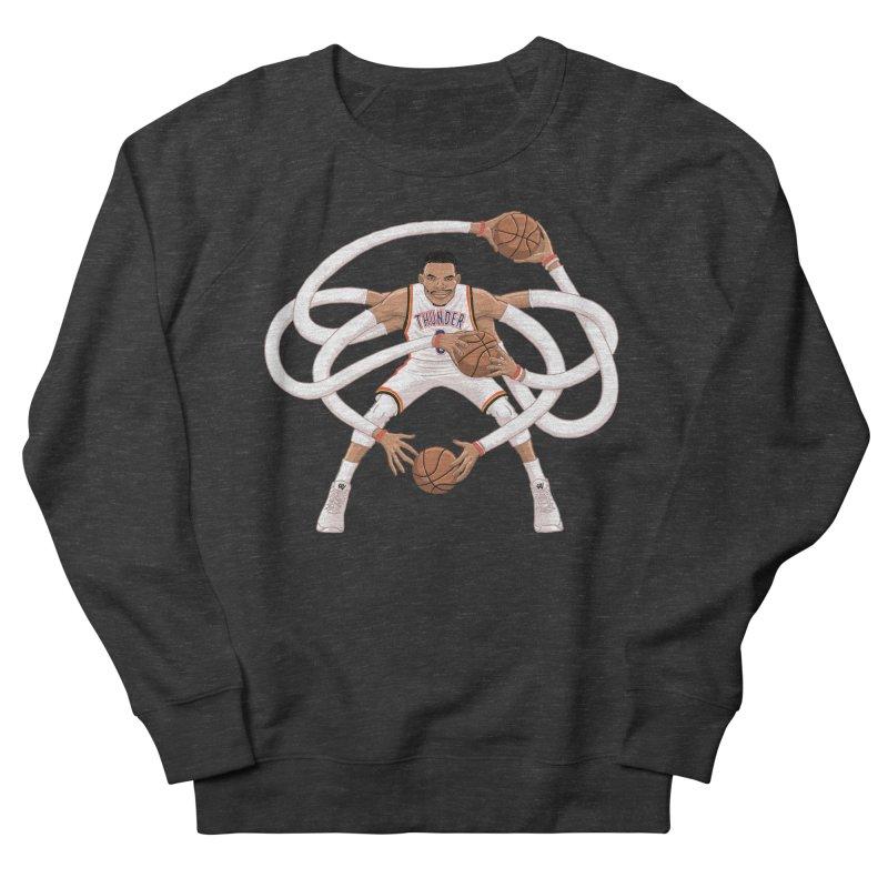 """Russell """"Mr. Triple Double"""" Westbrook - Home kit Women's Sweatshirt by dukenny's Artist Shop"""