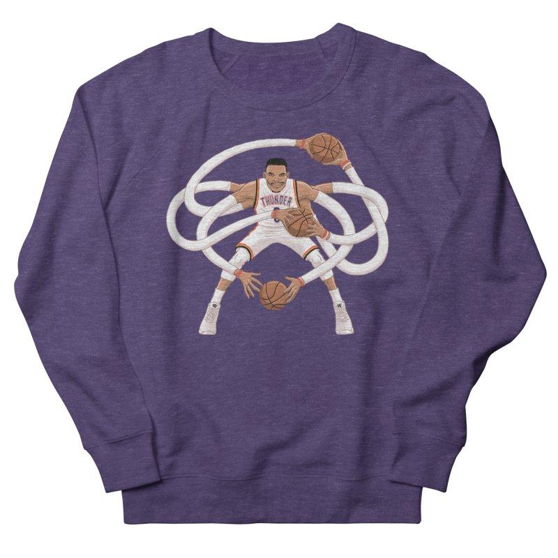 """Russell """"Mr. Triple Double"""" Westbrook - Home kit Men's Sweatshirt by dukenny's Artist Shop"""