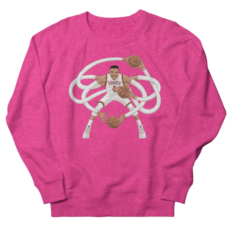 "Russell ""Mr. Triple Double"" Westbrook - Home kit Men's French Terry Sweatshirt by dukenny's Artist Shop"